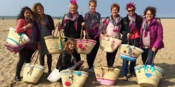 tas armband workshop vrijgezellenfeest strand