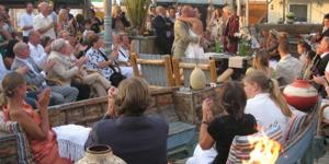 strandtent copacabana trouwen scheveningen